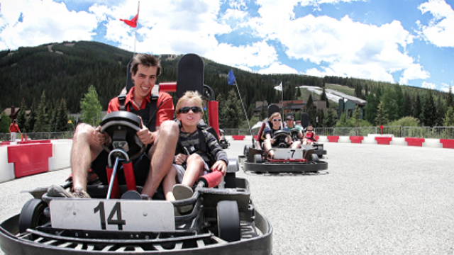 Image result for copper mountain go kart track