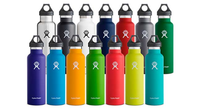 hydro flask unveils new color collections snowboarder