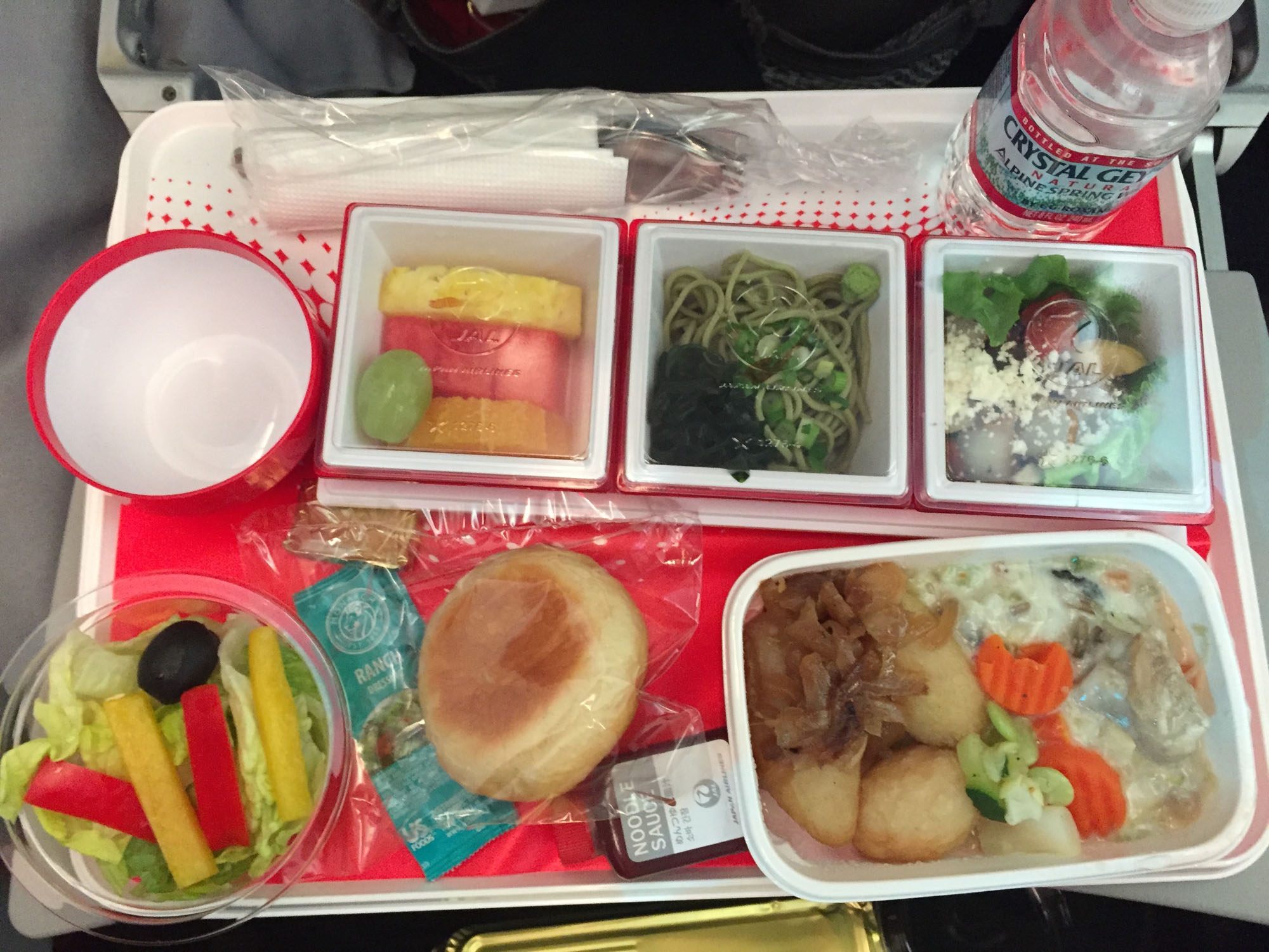 Japanese plane meal