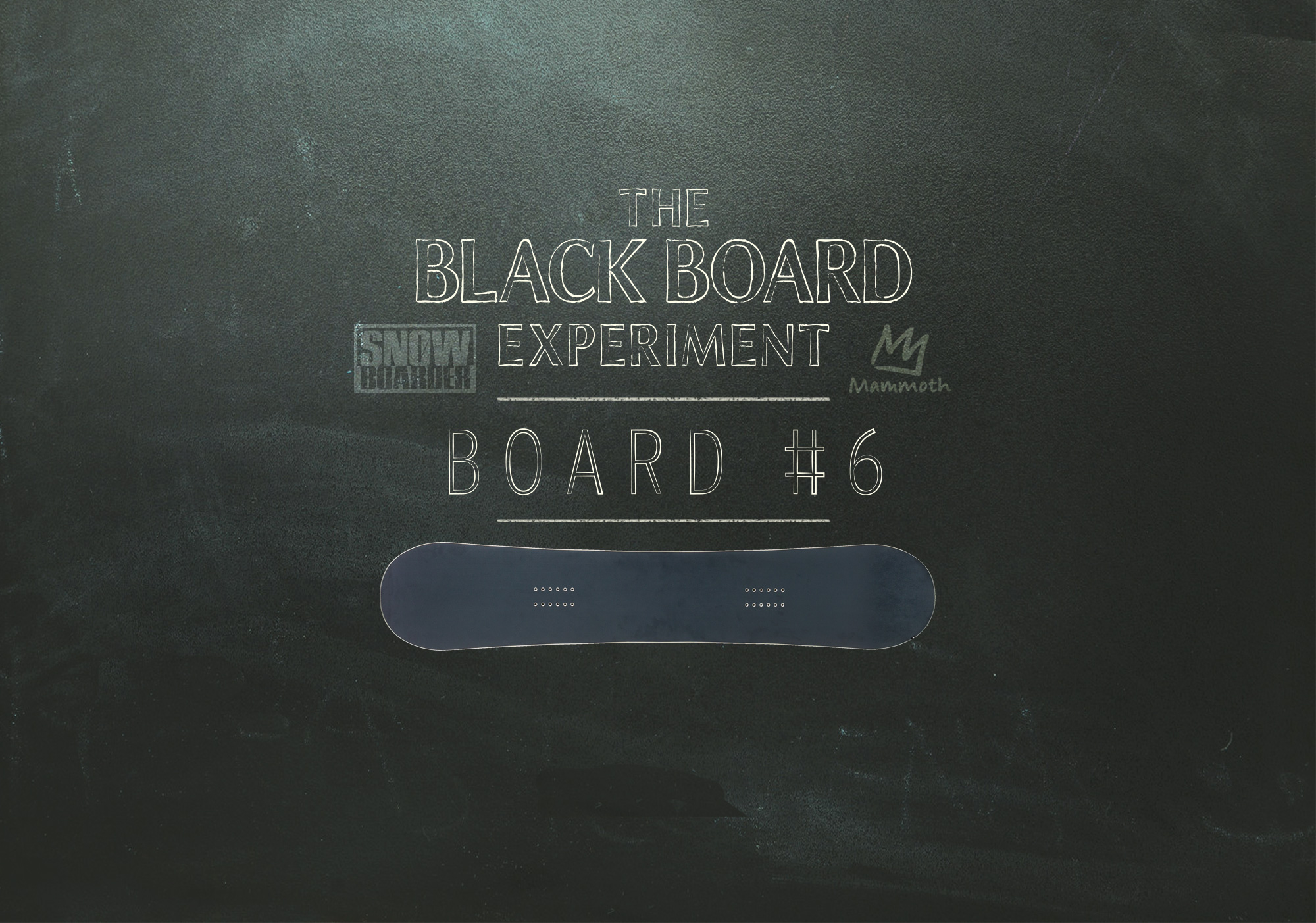 The Blackboard Experiment, Smokin Snowboards