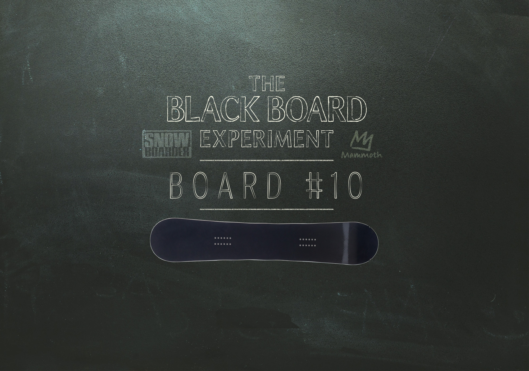 The Blackboard Experiment