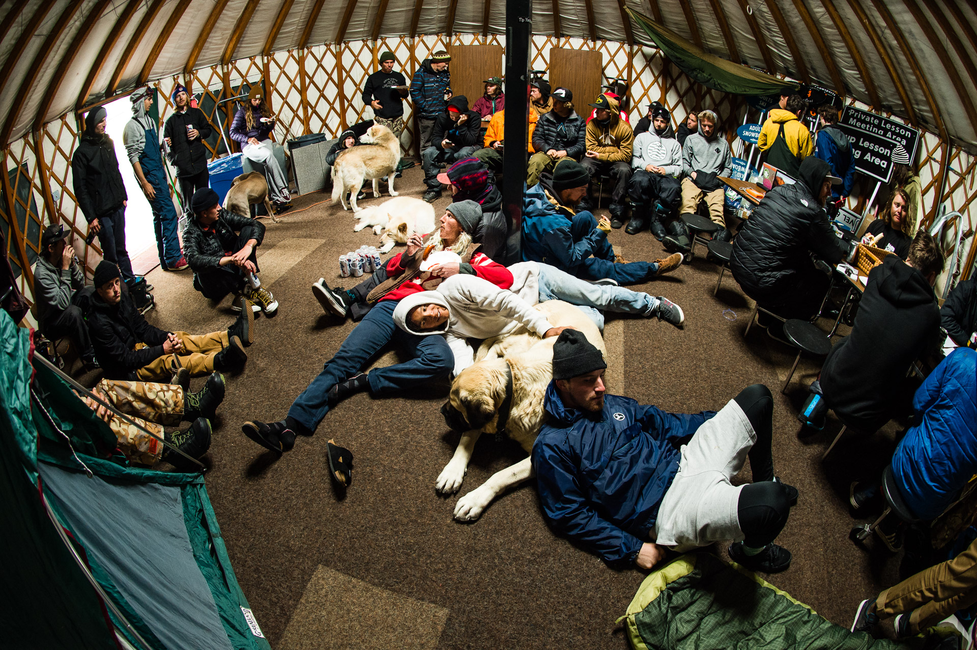 Quarterpipe Campout