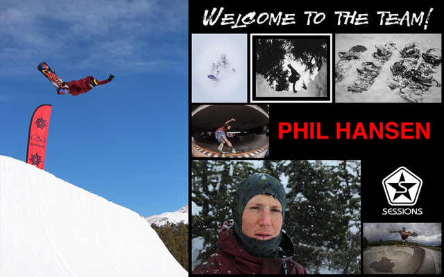Phil Hansen Sessions Snowboarding