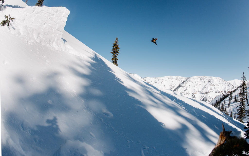 Travis laying it out in Jackson Hole. p: Blatt