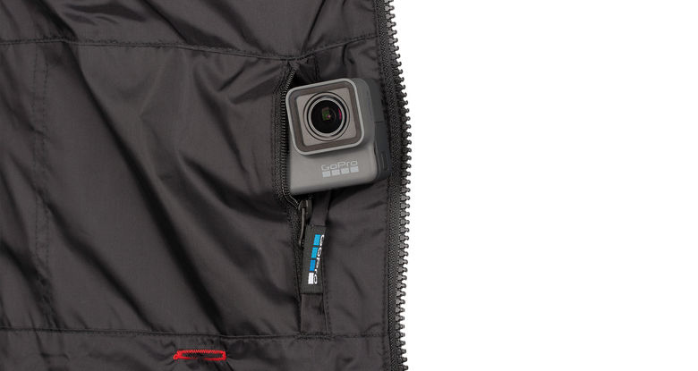 GoPro and 686 Jacket