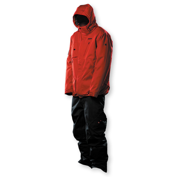 Under Armour Red Hooper Snowboard Jacket